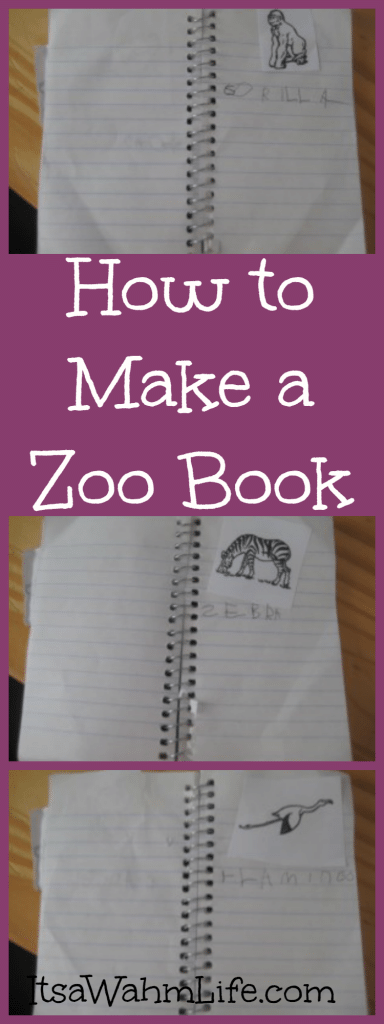 How to make a zoo book Itsawahmlife.com