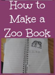 how to make a zoo book Itsawahmlife.com