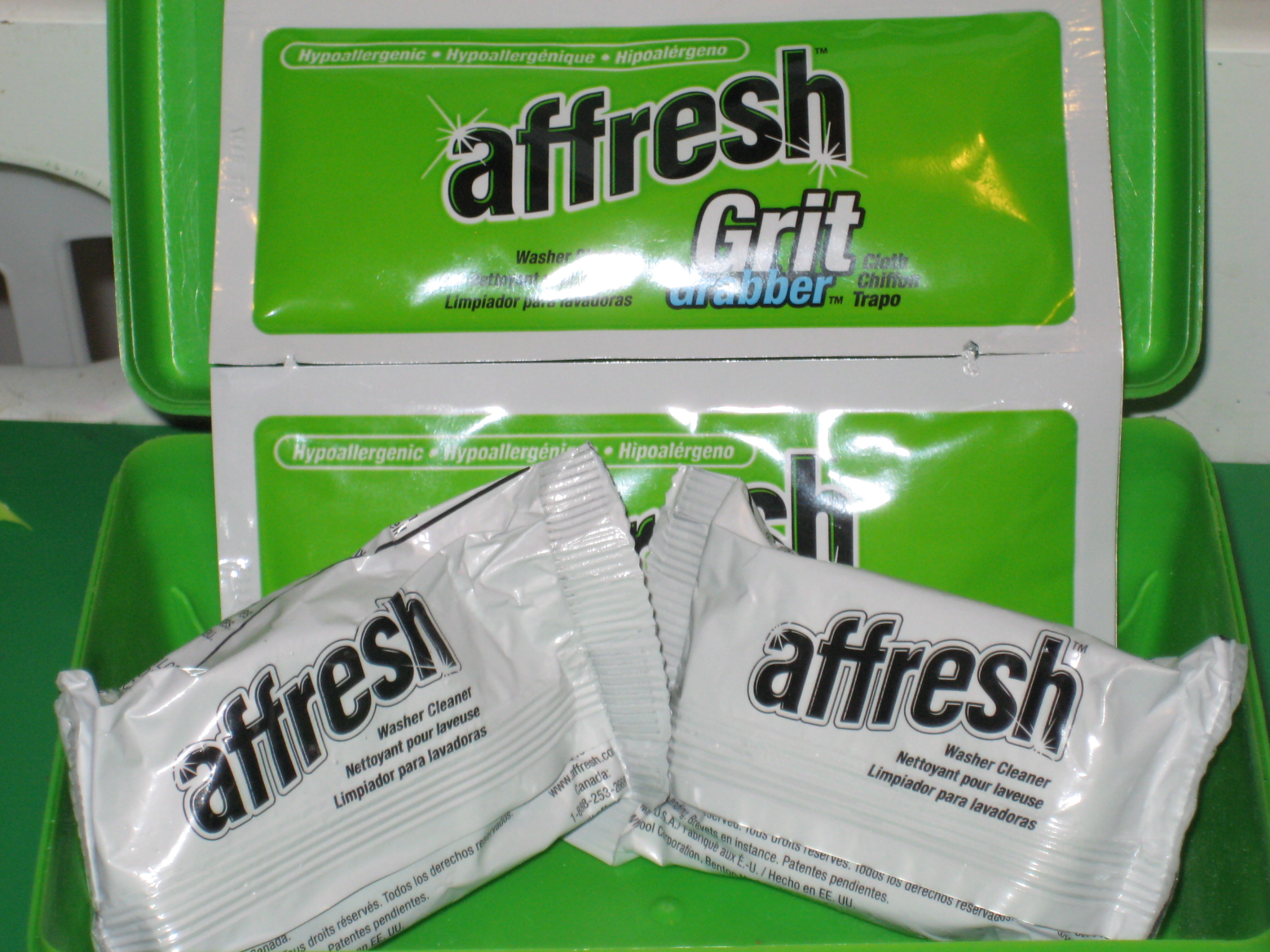 affresh washing machine cleaner kit