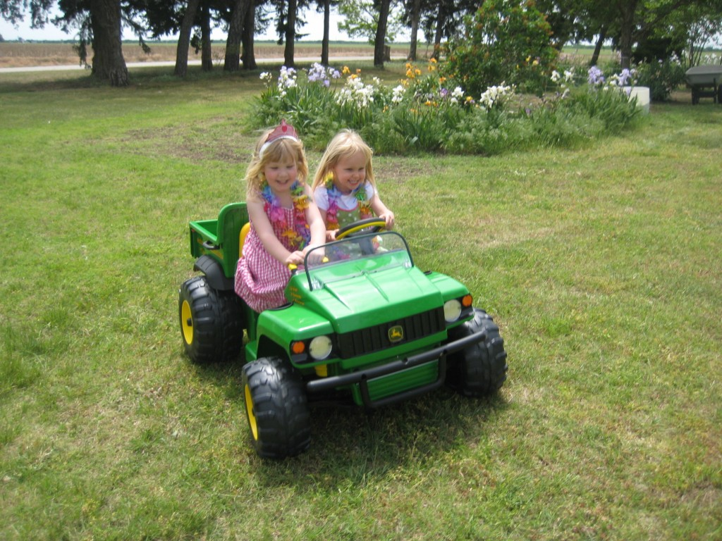 john deere ride on gator