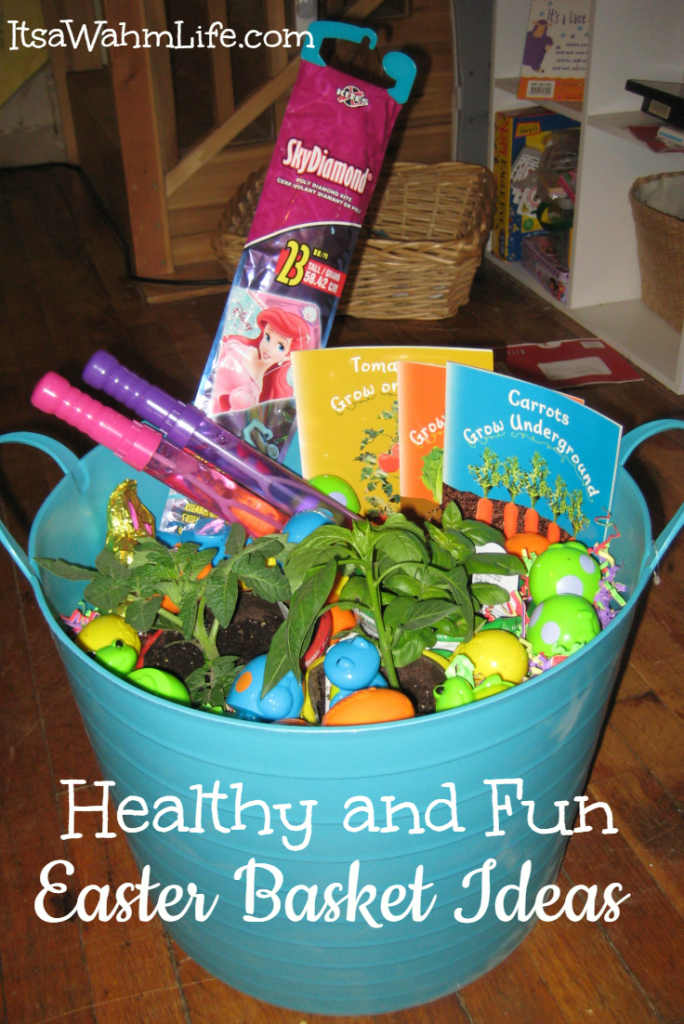 Healthy easter basket ideas its a wahm life healthy easter basket ideas negle Gallery