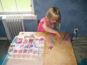 keeping kids busy