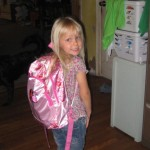 hanna first day of kindergarten