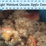 weight watchers quinoa apple breakfast cereal