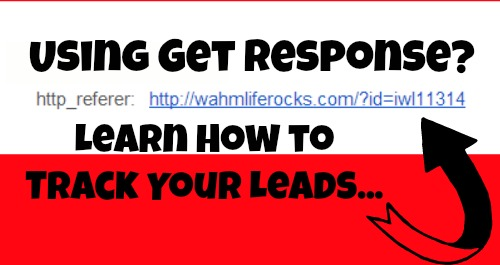 track get response leads