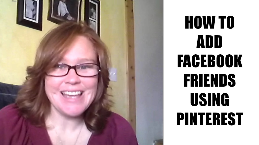 how to add facebook friends with pinterest