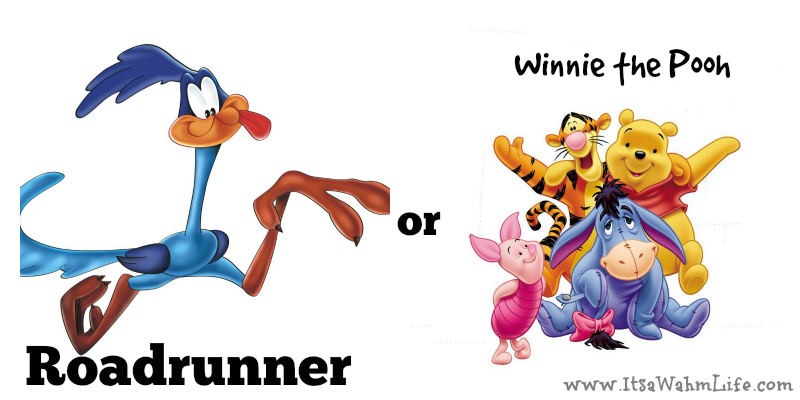 are you a roadrunner or winnie the pooh internet marketer