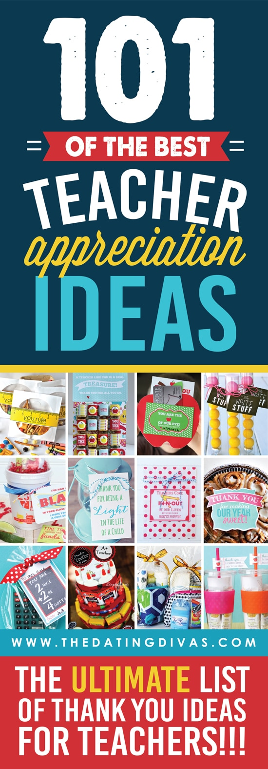 101 teacher appreciation gift ideas