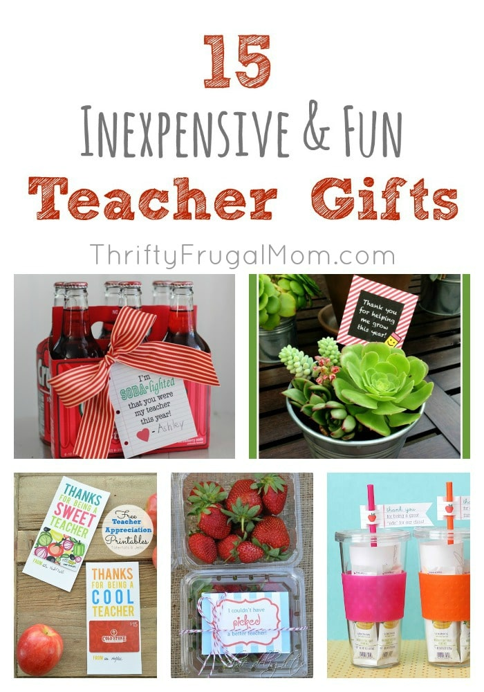 15 inexpensive gifts for teacher