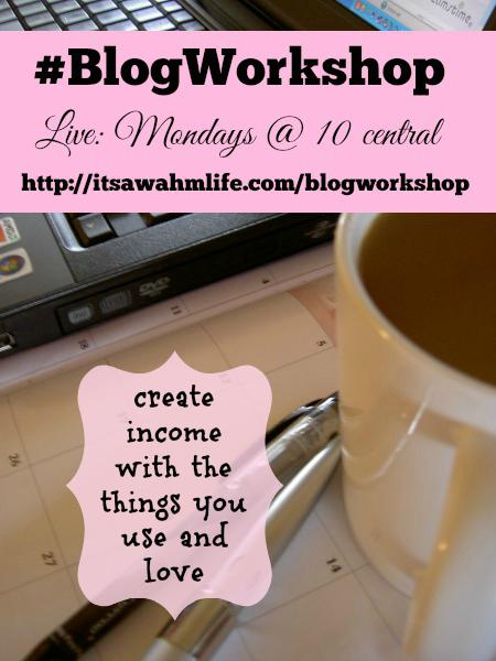 blog workshop affiliate marketing