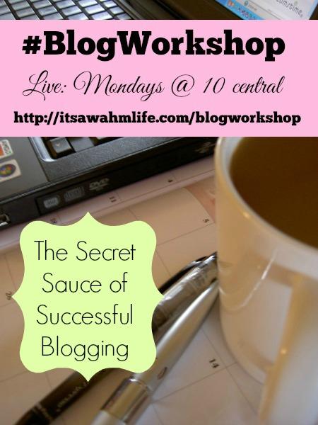 #blogworkshop find your tribe