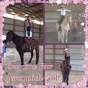 overcome fear accomplish goal