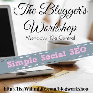 blog workshop: simple social seo