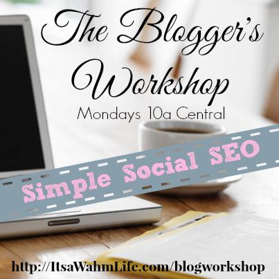 blog workshop: simple social seo