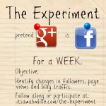 The Google plus experiment