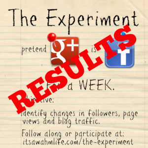 the experiment results