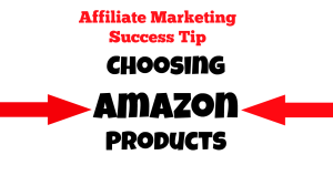 criteria for choosing amazon products to promote