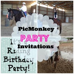 picmonkey party invitations