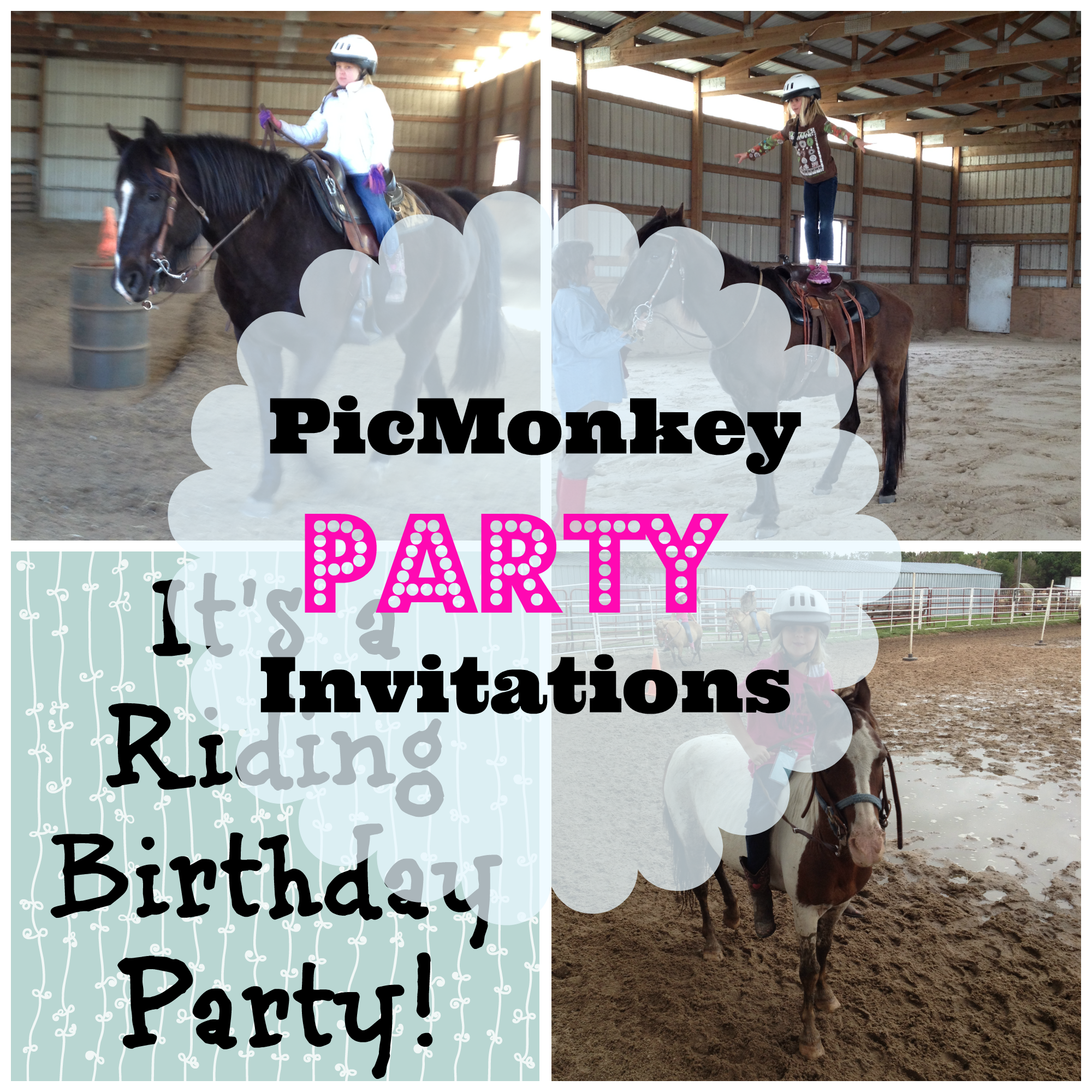 picmonkey party invitations