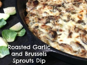 roasted brussels sprout dip