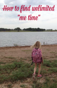 how to find unlimited me time