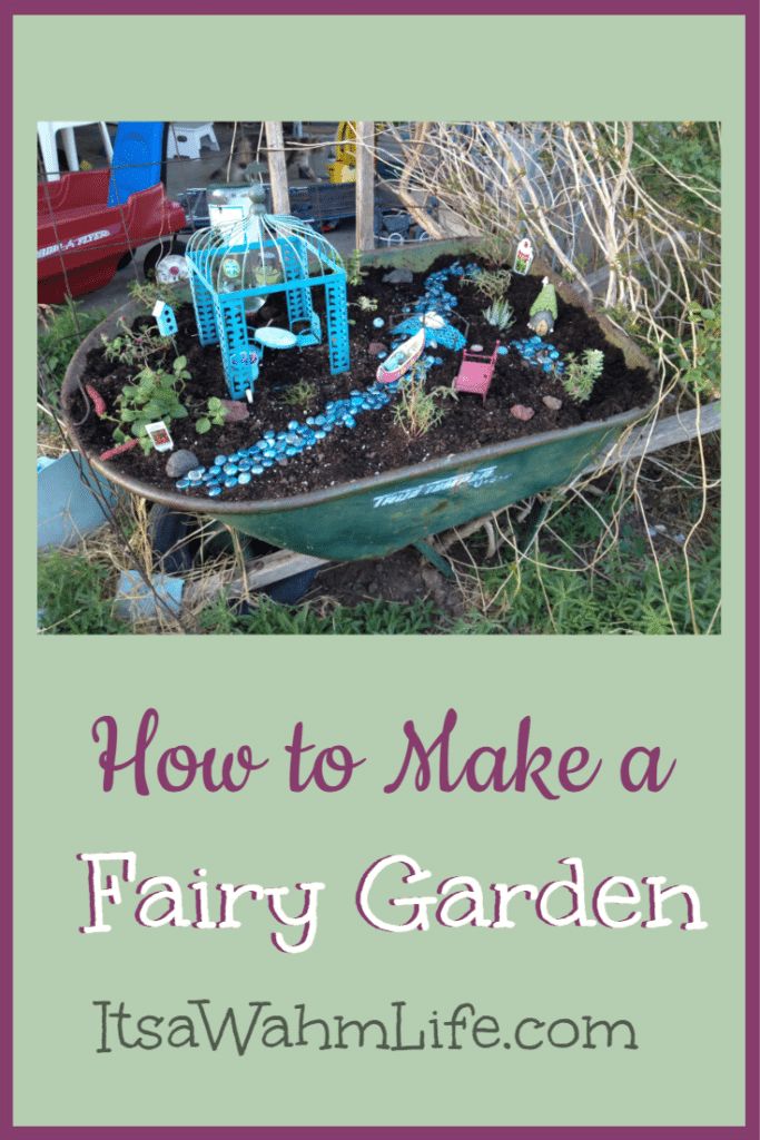 How to make a fairy garden itsawahmlife.com