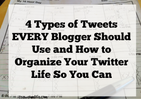 how to organize your twitter life
