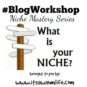 niche mastery series #blogworkshop
