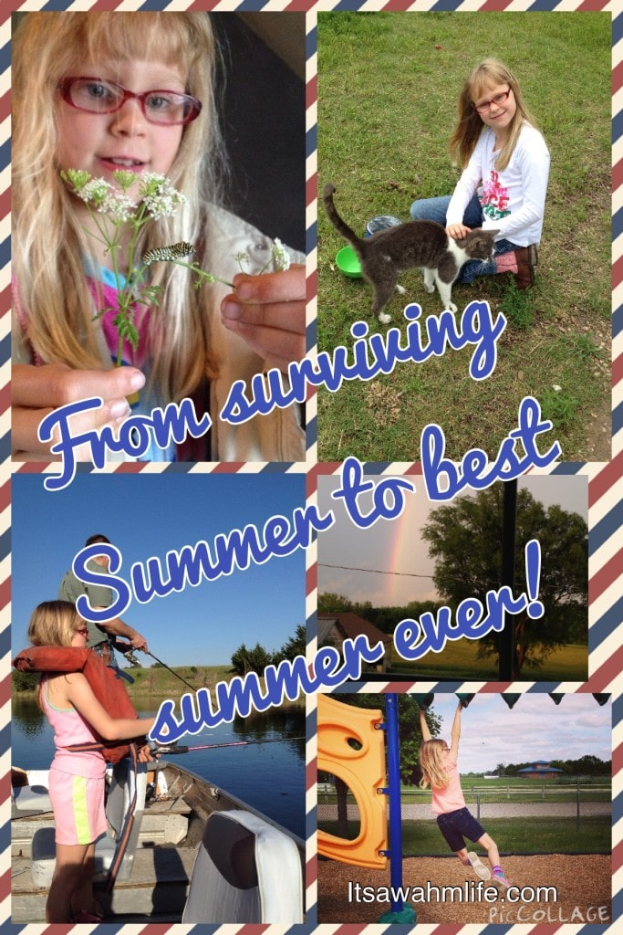 From surviving summer to the best summer ever. It can happen for you too! ItsaWahmLife.com