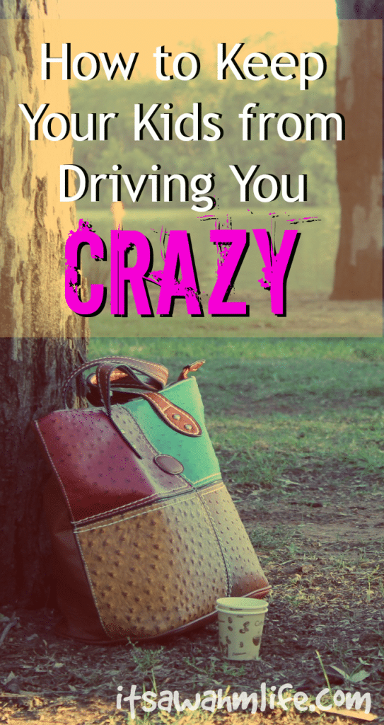 Stop touching me. How to keep your kids from driving you crazy. Itsawahmlife.com