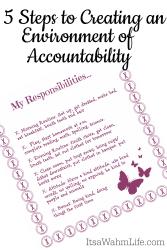5 steps to create accountability