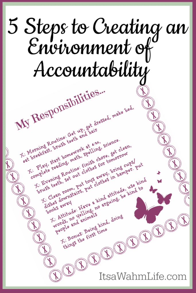 Creating an Environment of Accountability for Your Spirited Child ItsaWahmLife.com
