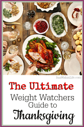 The Ultimate Weight Watchers Guide to Thanksgiving by ItsaWahmLife.com