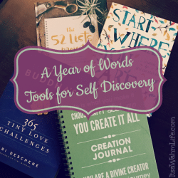 Year of Words Tools for Self Discovery ItsaWahmLife.com