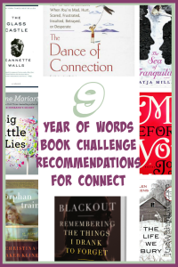 year of words book challenge recommendations for connect ItsaWahmLife.com