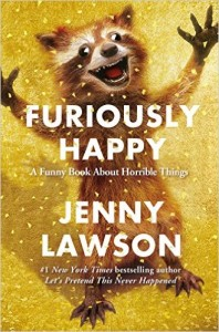Furiously Happy Book Review for Year of Words Book Challenge Word Happiness ~ ItsaWahmLife.com