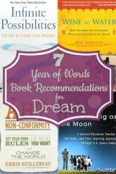 Year of Words book recommendations for Dream. ItsaWahmLife.com/JoinYoW