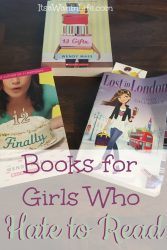 Books for girls who hate to read. ItsaWahmLife.com