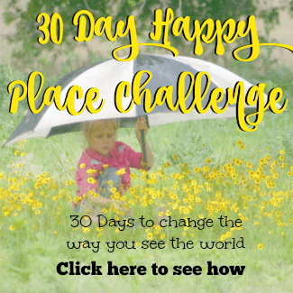 Join the 30 day happy place challenge today!