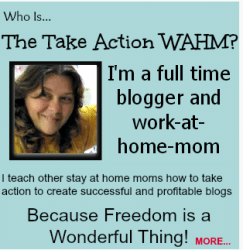Kelly the Take Action Wahm