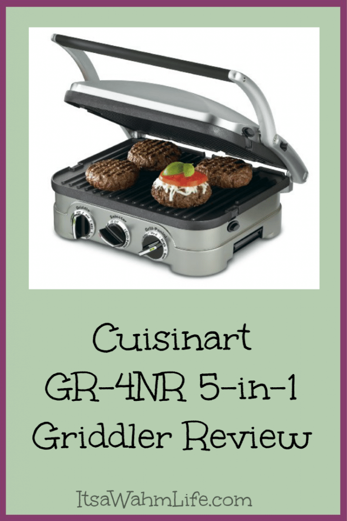 cuisinart gr 4nr 5 in 1 griddler review Itsawahmlife.com