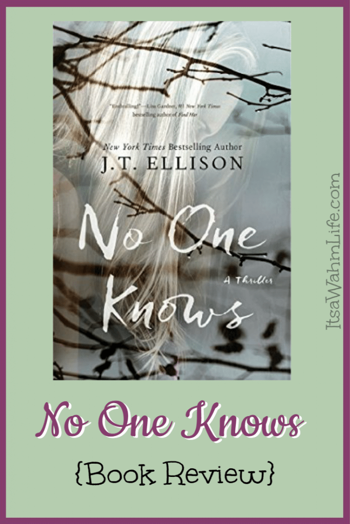 No One Knows {Book Review} ItsaWahmLife.com