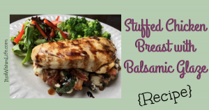 stuffed chicken breast with balsamic glaze ItsaWahmLife.com