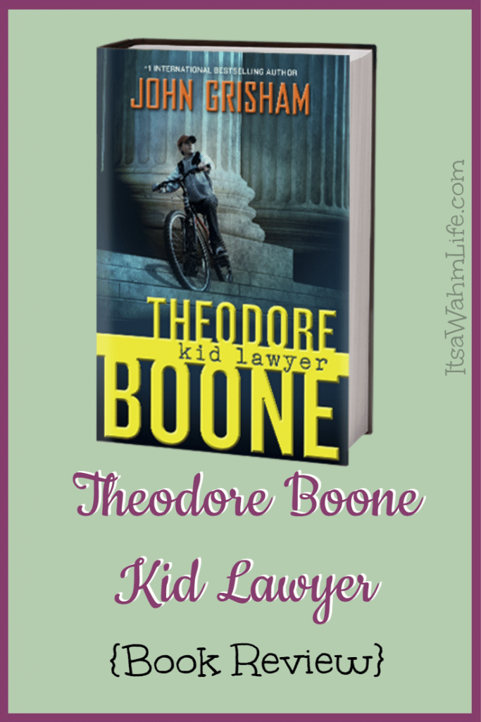 Theodore Boone Kid Lawyer {Book Review} ItsaWahmLife.com