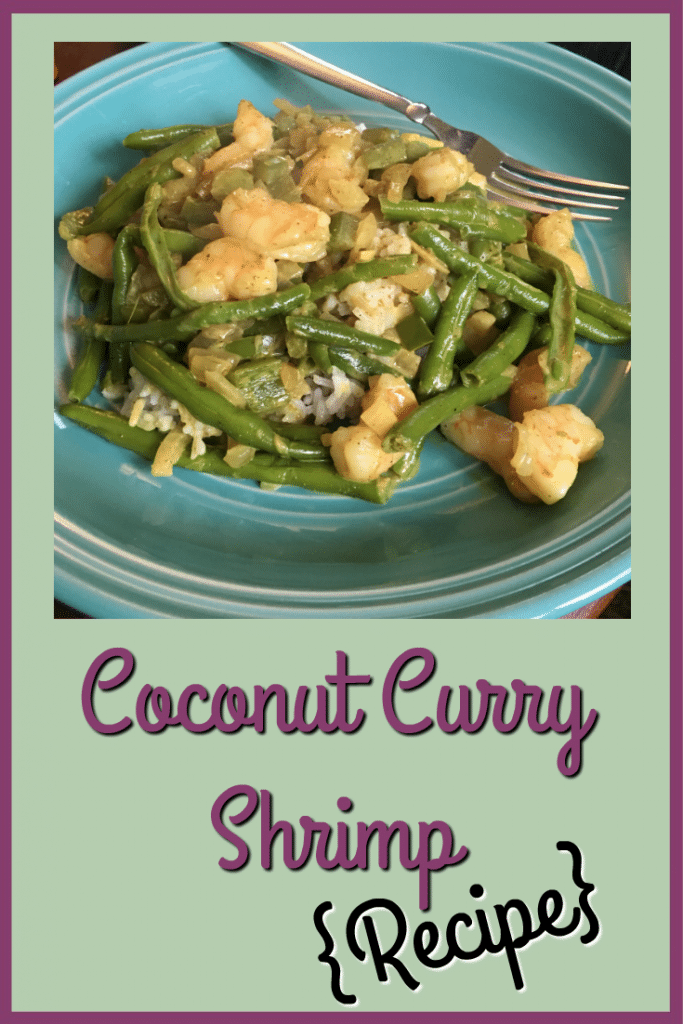 Coconut Curry Shrimp Recipe ItsaWahmLife.com