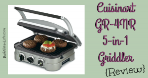 cuisinart griddler review ItsaWahmLife.com