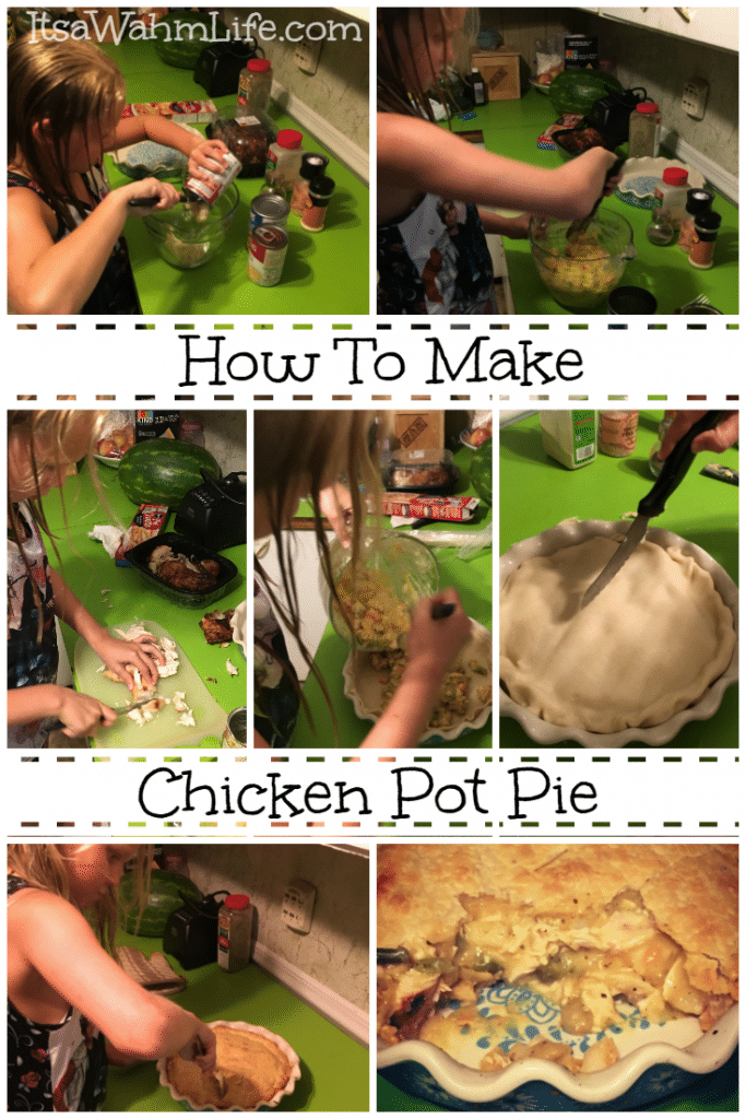How to Make Chicken Pot Pie {With Your Kids} ItsaWahmLife.com
