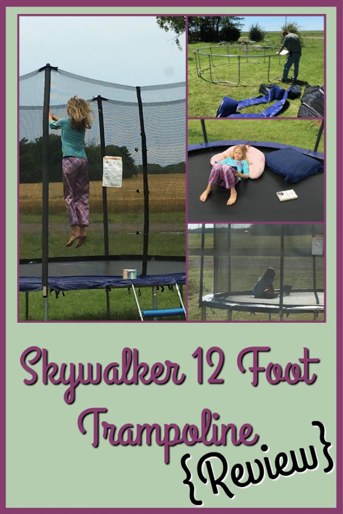 Skywalker 12 foot trampoline review ItsaWahmLife.com