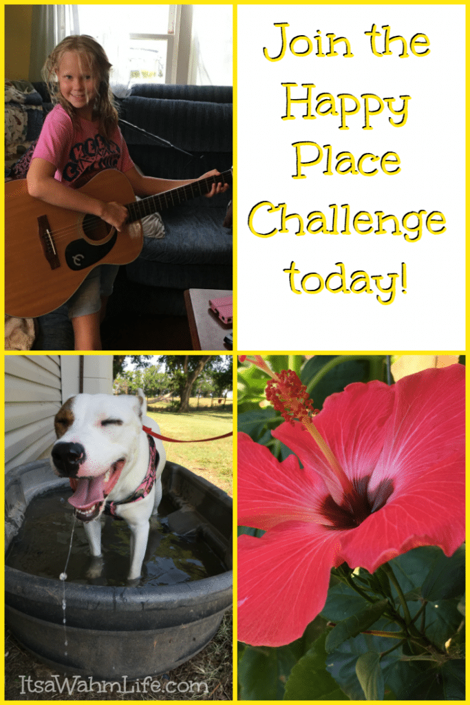 Join the Happy Place Challenge today! http://HappyPlaceChallenge.com