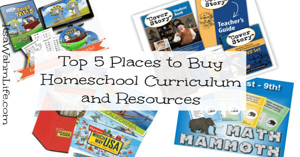 where to buy homeschool curriculum and resources